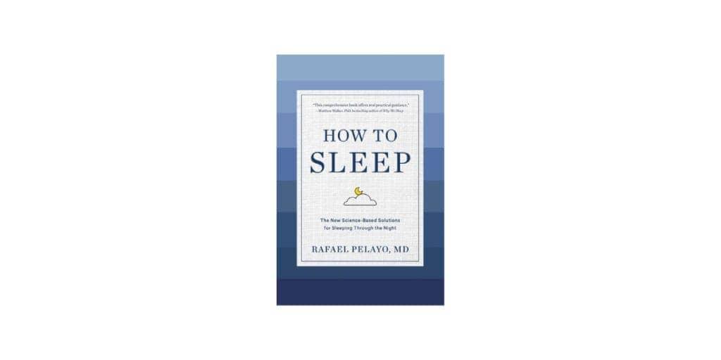 How to Sleep book