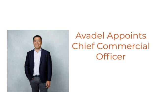 Avadel Appoints Chief Commercial Officer to Lead Anticipated Launch of Once-Nightly Sodium Oxybate
