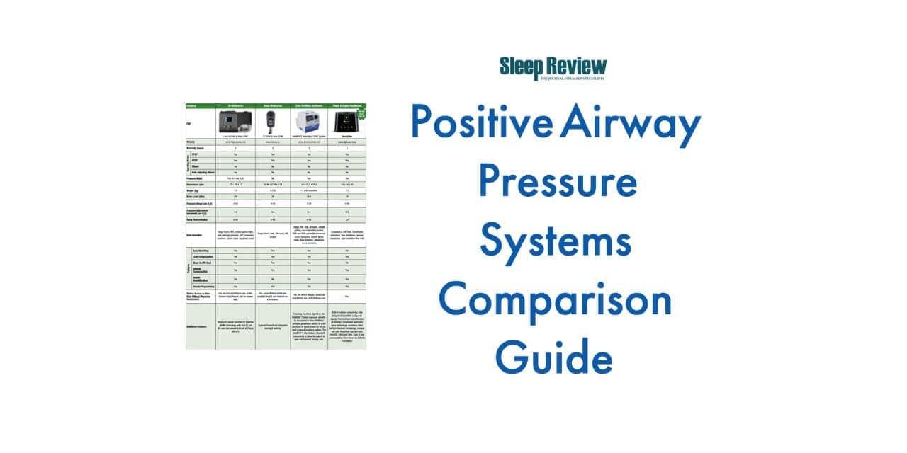 Positive Airway Pressure Systems Comparison Guide