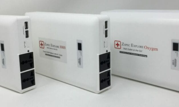 Zopec Medical Launches CPAP Batteries with Uninterruptible Power Supply for Power Outages